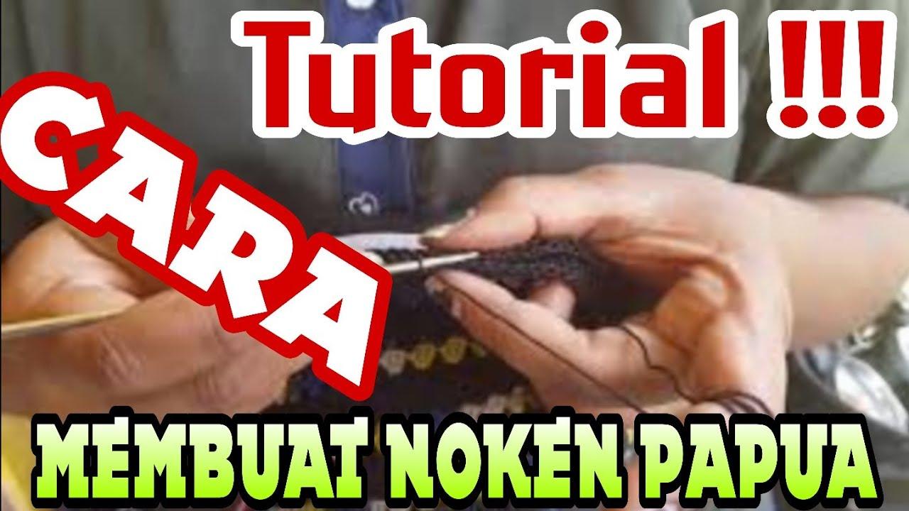 Tutorial Membuat Kelelawar Noken Papua Youtube