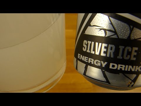 Rockstar Pure Zero Silver Ice Energy Drink