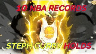 Top 10 NBA Records Steph Curry Holds