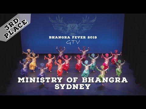 Ministry of Bhangra Sydney – Third Place – Bhangra Fever 2019