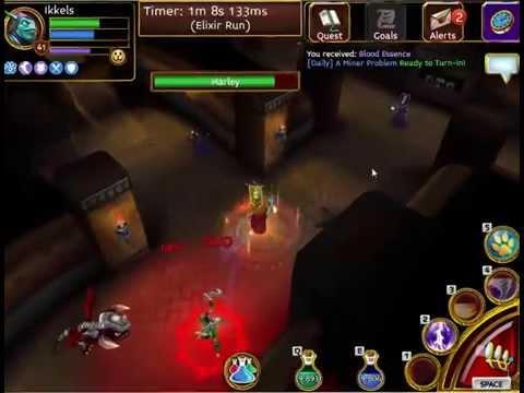 Arcane Legends - Some Kraken Mines III Runs...