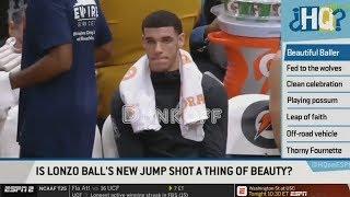ESPN Debate:Is Lonzo Ball New Jumpshot A Secret Weapon Of Him?