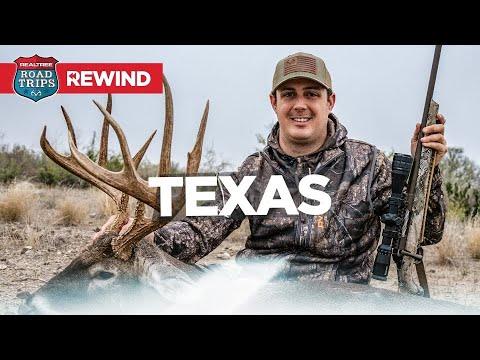 4 Giant Texas Bucks | Deer Hunting The Rut | Road Trips Rewind