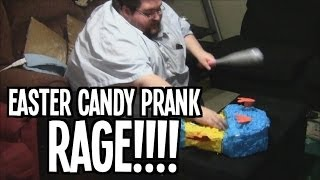 EASTER CANDY PRANK RAGE!
