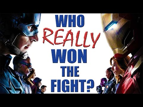 Team Stark VS Team Cap - Who REALLY Won the Fight?