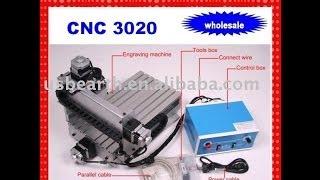Работа станка с ЧПУ CNC 3020