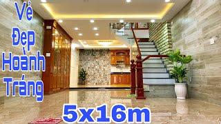 Bán nhà Tân Bình | Cả khu phố phải ngước nhìn trước vẻ đẹp HOÀNH TRÁNG của căn nhà phố 5x16m này !