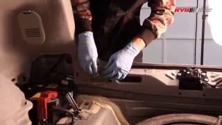 Toyota Prius III - REAR - Задние амортизаторы KYB установка