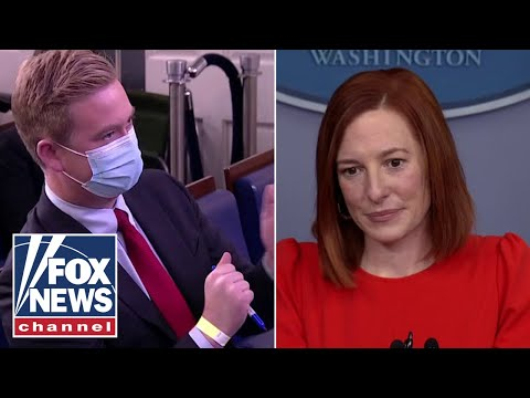Peter Doocy presses Psaki on why Biden didn't wear a mask on federal land