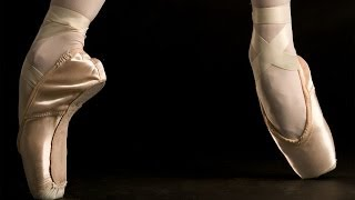 The Royal Ballet from the perspective of a pointe shoe
