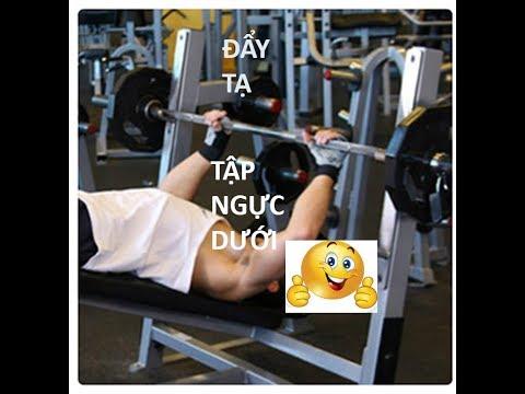 Hướng dẫn tập gym tại nhà, tập cơ ngực dưới