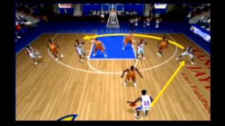 NCAA March Madness 2005 Floor General Play Calling System Retro Gameplay