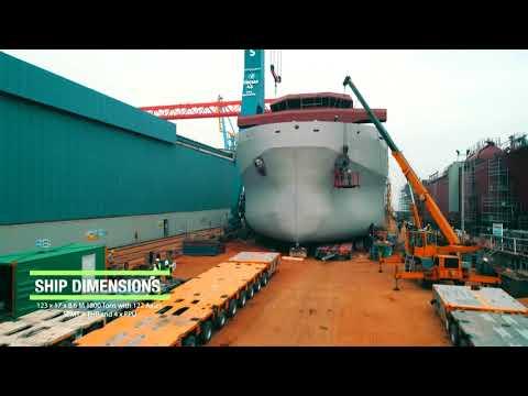 1800TON SHIP TRANSPORT-Heavy Transport-2018