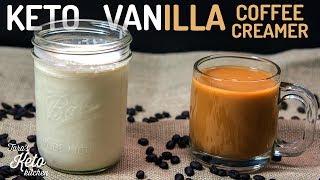 Vanilla Keto Coffee Creamer Recipe | A Fat Bomb For Your Coffee!