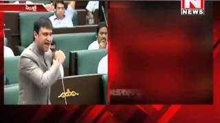 Akbaruddin Owaisi fires on Govt in AP Assembly sessions 23/03/13