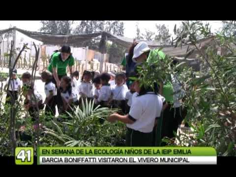Ni os del jard n emilia barcia boniffatti en el vivero for Vivero el botanico