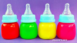 Clay SLIME Baby bottle Surprise Toys Dora the Explorer Inside Out Cars 2 Minions