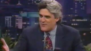 Tonight Show Jay Leno - Quentin Tarantino - From Dusk Til Dawn - 1996