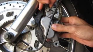 Передні гальма Lifan LF250 Yamaha XV250 Front brake