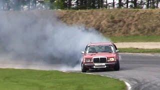 Mercedes W123 TURBO 525hp Diesel Drifting