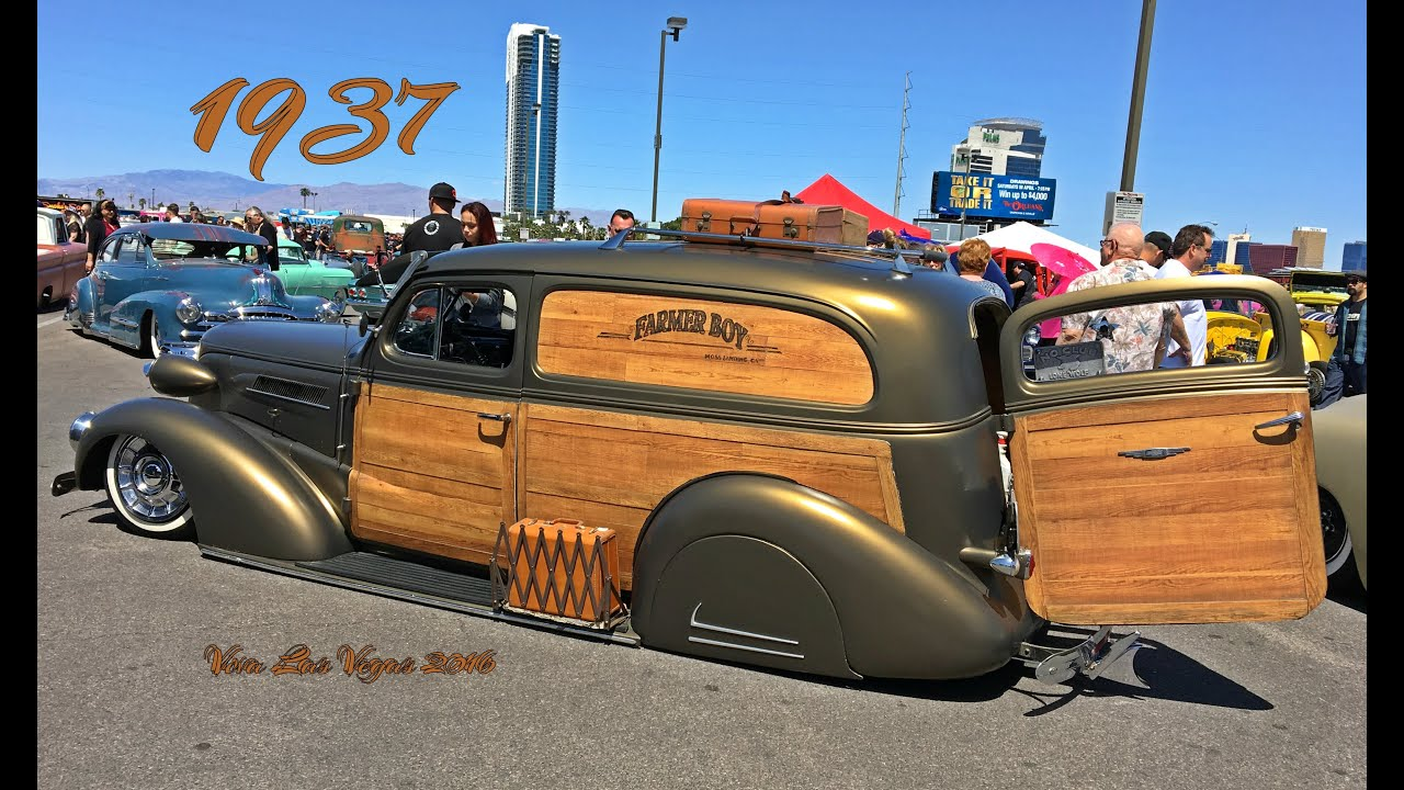 1937 Chevy Woody Delivery Low Rider
