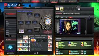 Dota 2 Item Crafting - Recipes and Socketing with Feeder