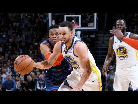 Westbrook Suspended! No Durant, Curry 33 Pts Thunder! 2018-19 NBA Season thumbnail