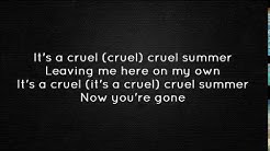 Bananarama - Cruel Summer (Lyrics)