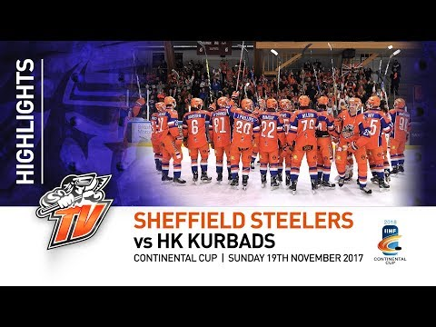 Sheffield Steelers v HK Kurbads - Contiental Cup - 19th November 2017