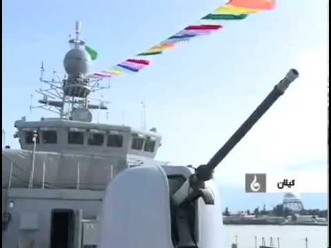 Islamic Republic of Iran Navy new Jamaran-2 frigate - Mowdge class