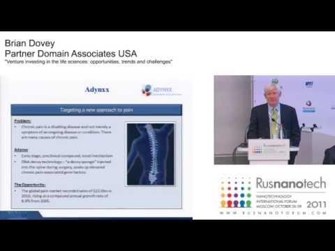 Brian Dovey speaking Rusnanotech 2011