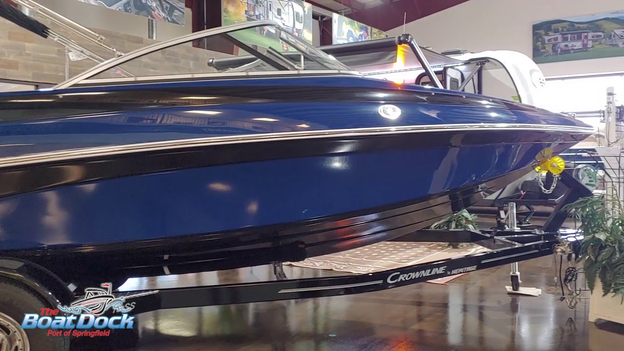 2019 Crownline 18SS (LIMITED EDITION)
