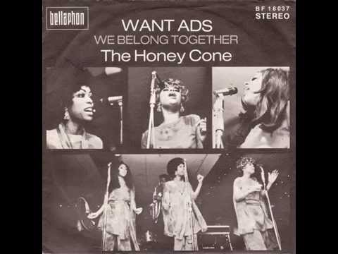 The Honey Cone - We Belong Together