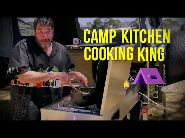 Camp Kitchen Cooking King! With comedian Tim Smith