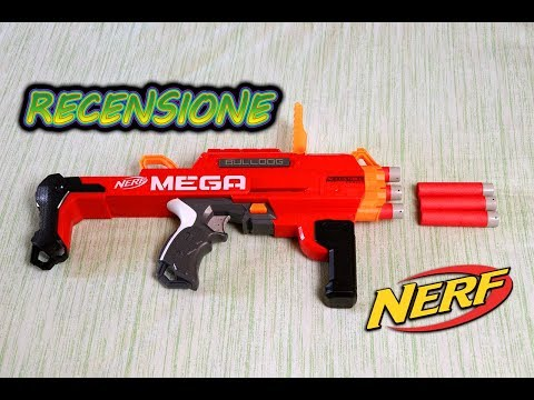 Recensione Nerf MEGA Accustrike BULLDOG🐶