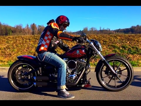 best custom harley davidson breakout fxsb softail youtube. Black Bedroom Furniture Sets. Home Design Ideas