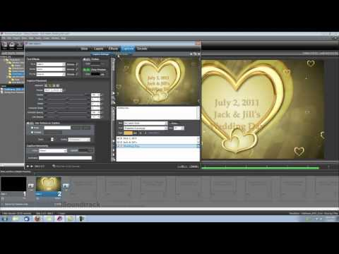 ProShow Producer Tutorial: Wedding Intro with Gold Hearts