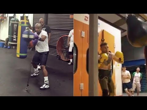 Conor McGregor Looks TERRIBLE in New Workout Video for Mayweather Fight
