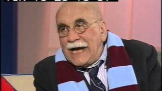 Warren Mitchell - Alf Garnett - Des O'Connor Football Special - 1998