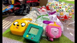 Adventure Time Happy Meal Toy 2018 McDonalds - Family Toy Review 🔴 Live Toy Unboxing