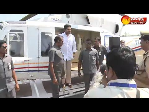 CM YS Jagan Reached Vizianagaram LIVE || To Launch Jagananna Vasathi Deevena ||Sakshi TV