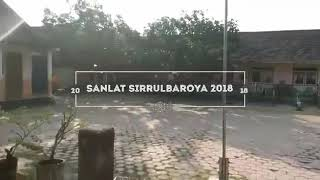 Pesantren kilat Sirrul Baroya SANLAT Mi An Nur Junwangi 2018 M / 1439 M