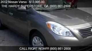 2012 Nissan Versa 1.6 SV 4dr Sedan for sale in Dallas, GA 30157 serving Rockmart, and Acworth