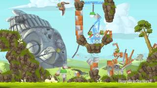 Angry Birds Star Wars 2: Battle of Naboo update gameplay trailer