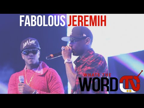 Fabolous & Jeremih performs Thim slick. planes and more - YouTube