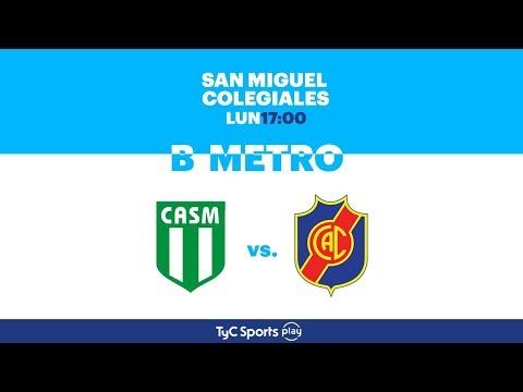 Primera B Metropolitana: San Miguel vs. Colegiales  l #PrimeraBenTyCSports