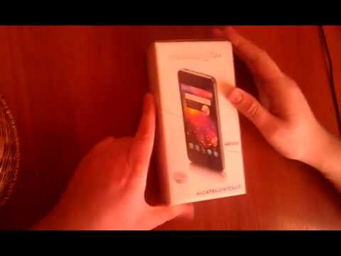 Распаковка обзор alcatel one touch star 6010d
