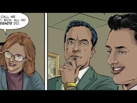 The Bracelet Chronicles writers Neil and Micheal meet the stars of Stan Lee's Lucky Man