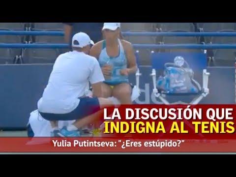"""El diálogo jugadora-técnico que indigna al tenis: """"¿Eres estúpido?""""   Diario AS"""