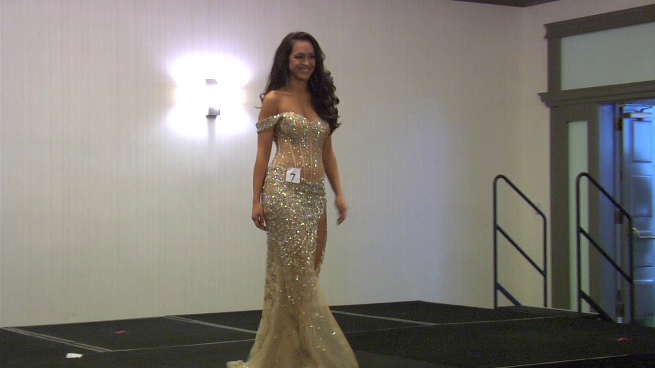 03 Miss Palm Beach County USA Evening Gowns - YouTube